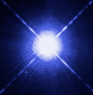 White Dwarf star from the Hubble Telescope