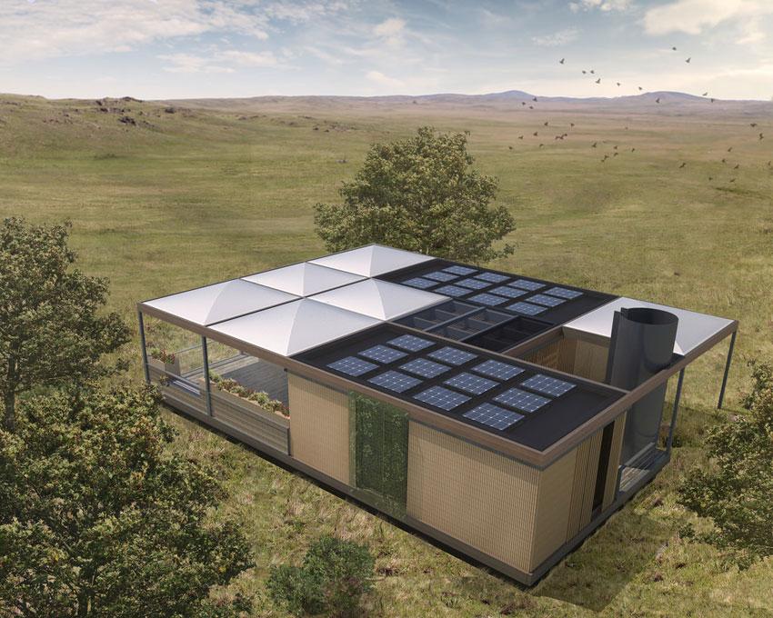 Solar decathlon house