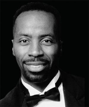 Bass-baritone singer Leon P. Turner