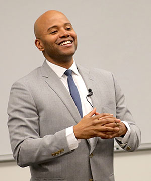 Historian and civil rights scholar Peniel Joseph