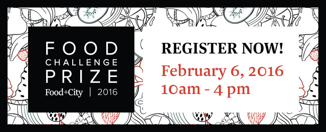 Join us at the second annual Food+City Challenge Prize Showcase Day on Feb. 6