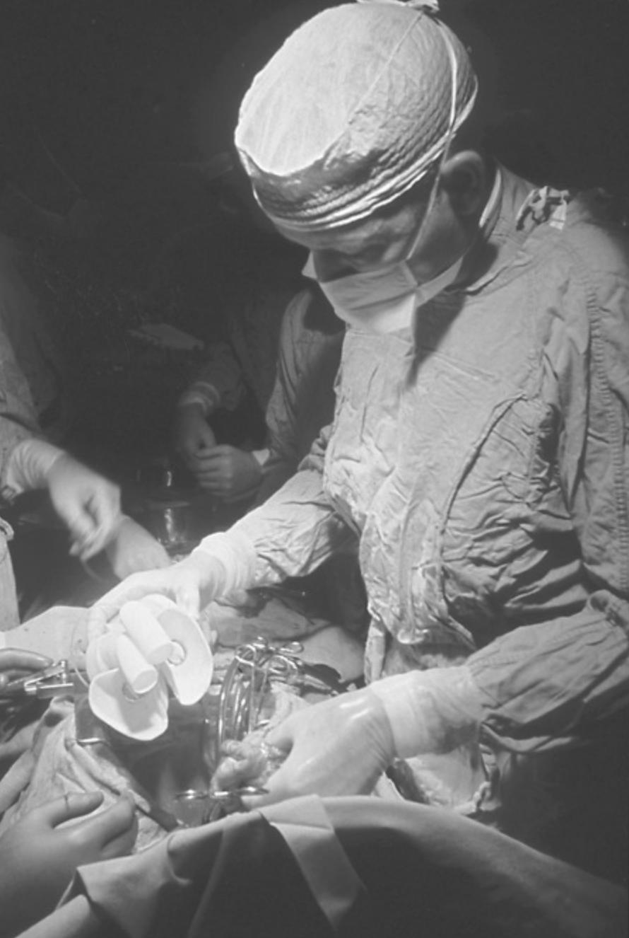 Denton Cooley operating