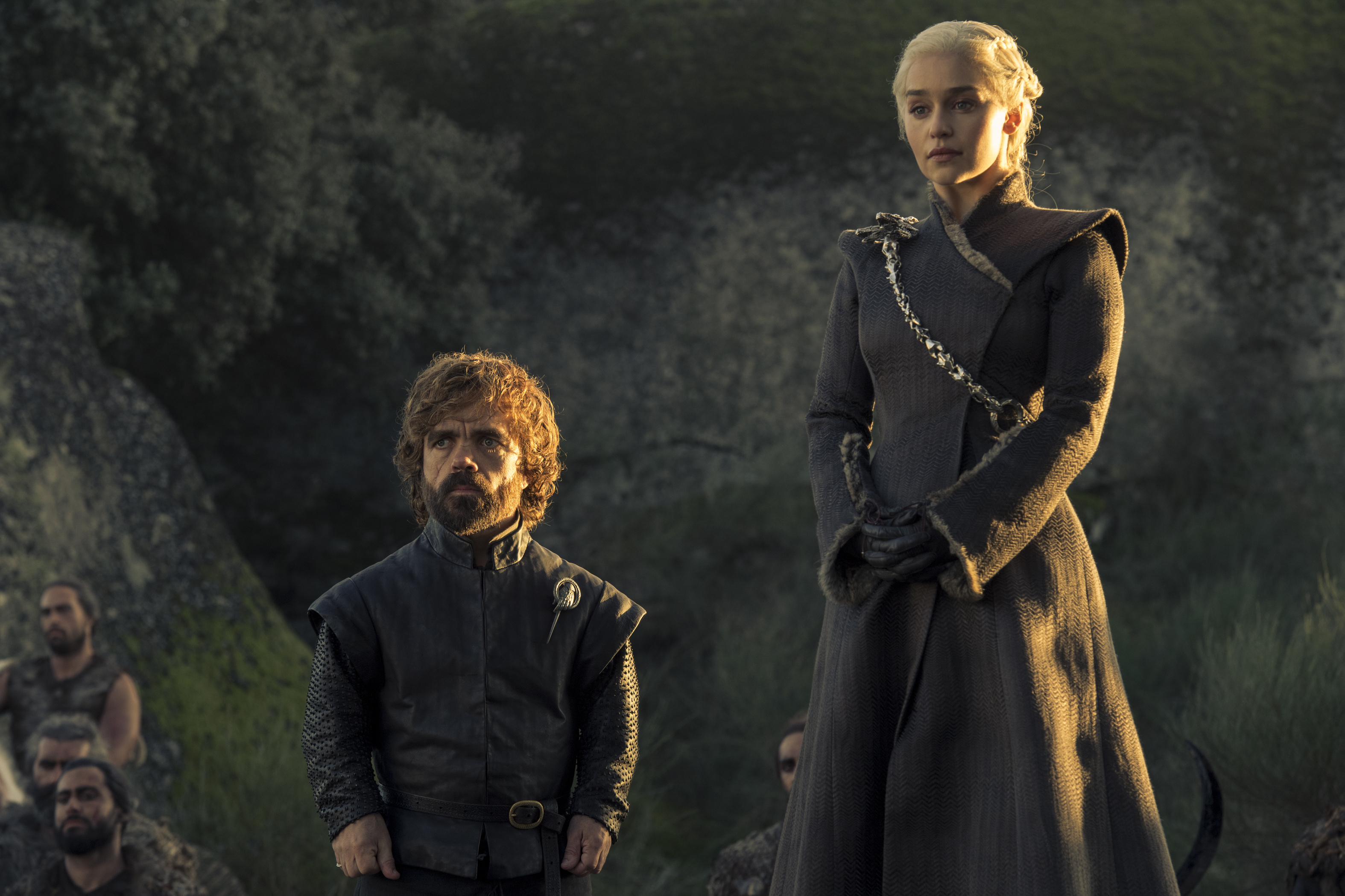 Daenarys Targaryen and Tyrion Lannister