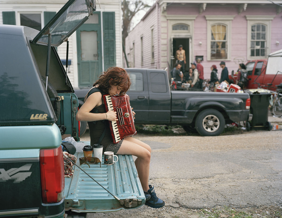 "Justine Kurland ""Claire, 8th Ward"""