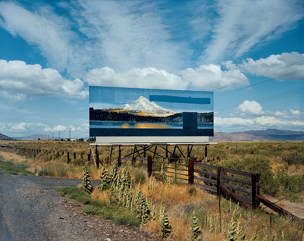 "Stephen Shore ""US 97 South of Klamath Falls"""