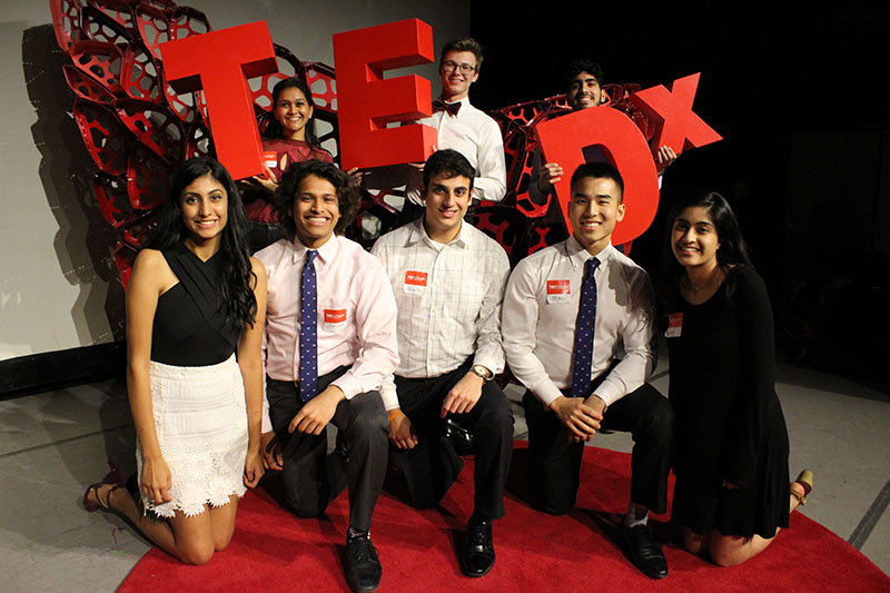 Tedx UTAustin Group with Letters
