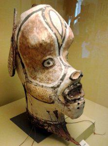 Máscara Tikuna - Representação de Macaco